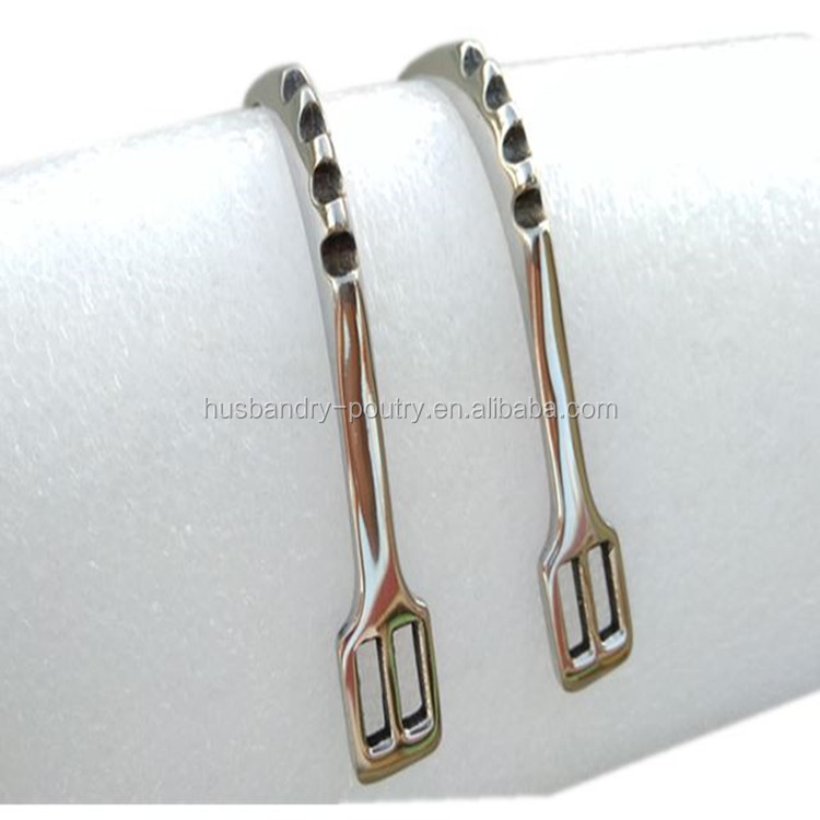 Stainless Horse Spur With Three teeth band Horse Riding Horse equipment