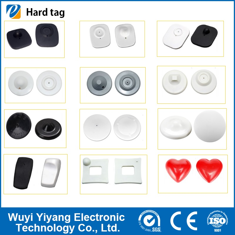 Hot Sales Supermarket Clothing Store EAS RF Security Hard Tag