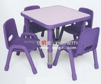jardin denfants et lcole maternelle table en plastique et une chaise pour - Table Et Chaise De Jardin Pour Enfant