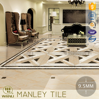 new design 10.5mm rustic porcelin tiles for interior floor and wall