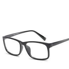 Индивидуальные квадратные оптические очки, оправа для женщин и мужчин, модные PC Прозрачные зеркальные очки по рецепту, черная оправа, красн...(Китай)