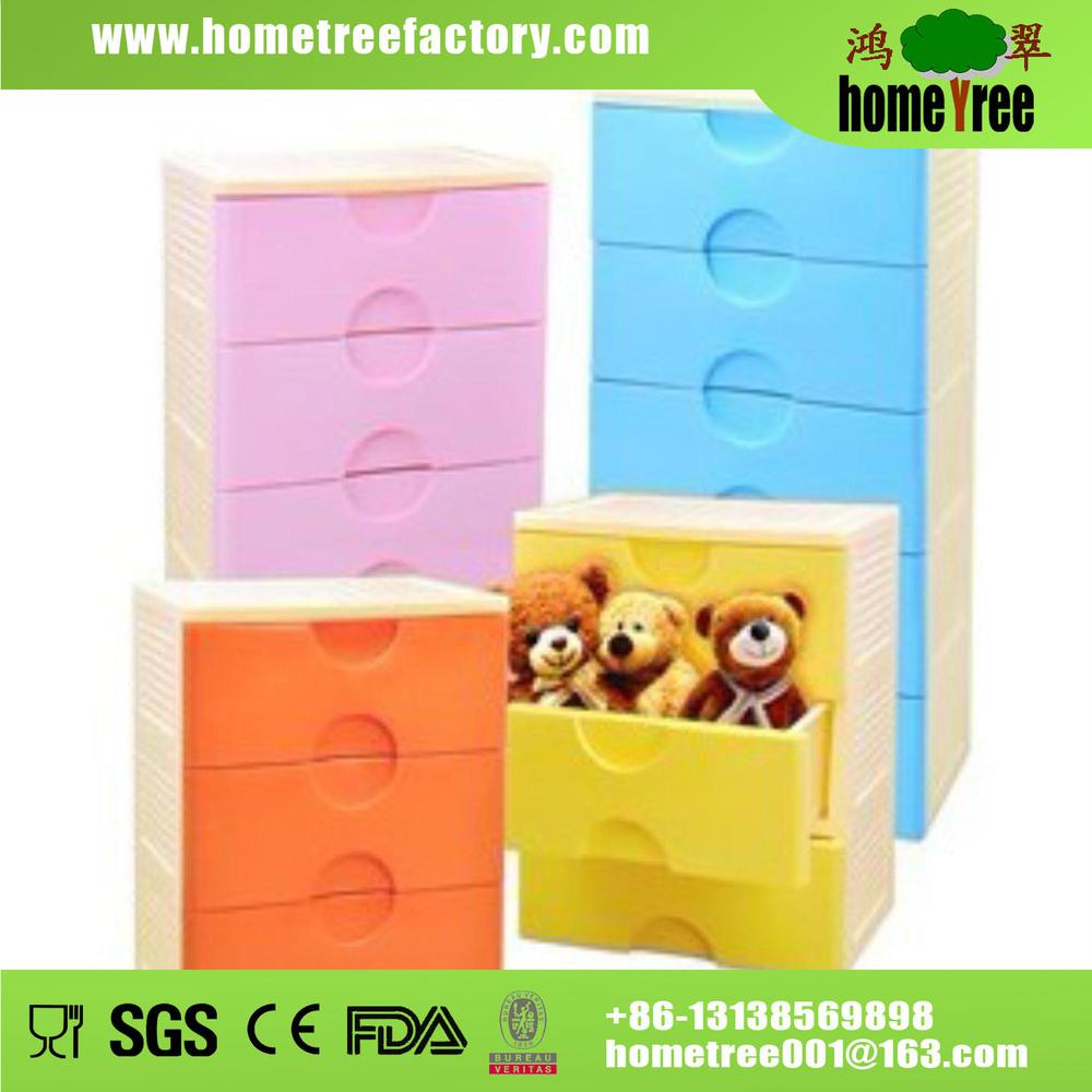 Cassettiere In Plastica Per Bambini.Manico A Forma Di Cuore 4 Cassettiera Stretto Di Plastica Cassetti