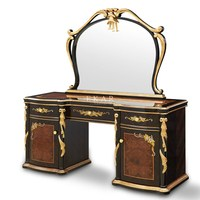 High Gloss Dressing Table European Make Up Vanity Table