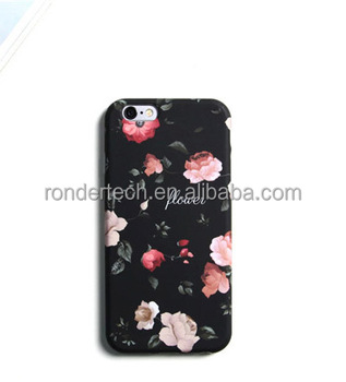 size 40 2e065 1a385 2017 Newly Coming Phone Housing For Iphone 6s Retro Flower Case,Imd Tpu  Black Flowers Case For Iphone 6 6 Plus - Buy Phone Housing For Iphone ...