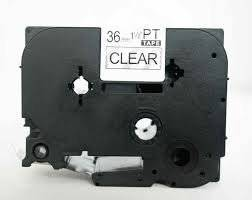 AIM Compatible Replacement - Brother Black on White Laminated P-Touch Label Tape (3/4 X 26Ft.) (TZ-241) - Generic