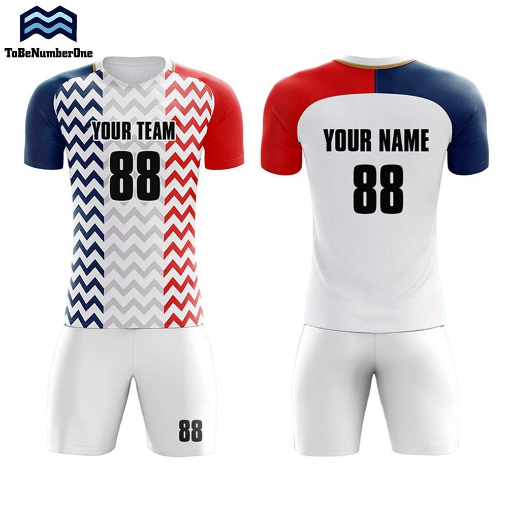 7edeebd04c8 Get Quotations · Custom Sportswear 2018-2019 France Away Concept Soccer  Uniform Set