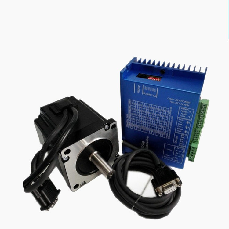 0.78~1.1N.m 2~2.8A 60mm Closed Loop Stepper Motor NEMA24 With Driver And 3M Cables / Length : 47mm 60HS47-2008