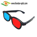 ABS Plastic Red Cyan 3D Glasses Logo Customized Anaglyph 3D Glasses Cinema 3D Video Glasses