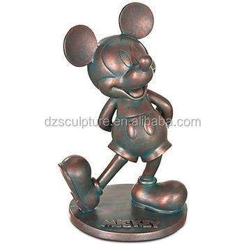 ünlü Muhtemel Yaşam Boyutu çizgi Film Karakteri Mickey Mouse Heykeli