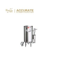 Semi-automatic small scale hot concentration juice sterilizing machinery 115-135 degrees