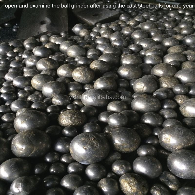 Tailor-made high low chrome grinding casting steel balls