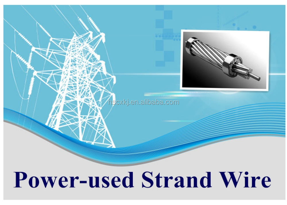 Electric Wire aluminium steel wire conductor with compititive price