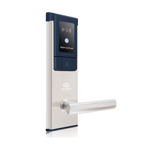 Free Software Stainless Steel Electric Mortise Lock Smart Hotel Bedroom RFID Card Key Magnetic Door Locks