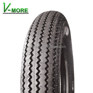 China Vintage Sawtooth Motorcycle Tire 4.00-17 4.50-17