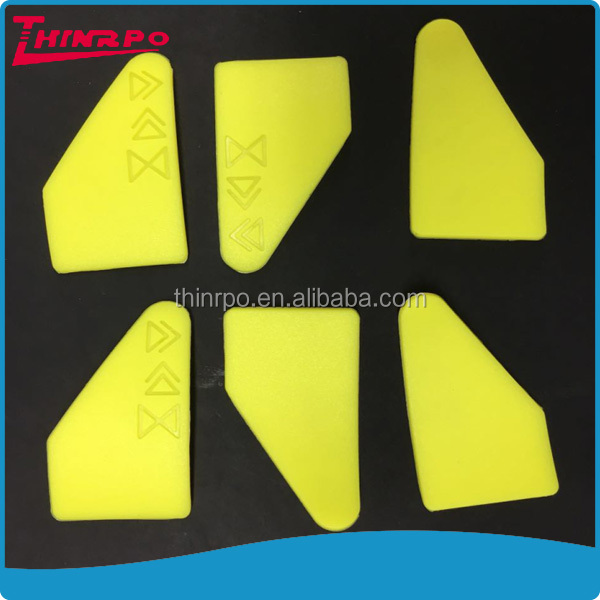 Custom rubber parts molded debossed logo Matte surface silicone products