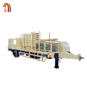 Longshun K Arch Span double axles roll froming machine price with generator 600-305