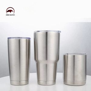 18/8 Double wall vacuum insulated beer keep cold cups and coffee mug tumbler cup