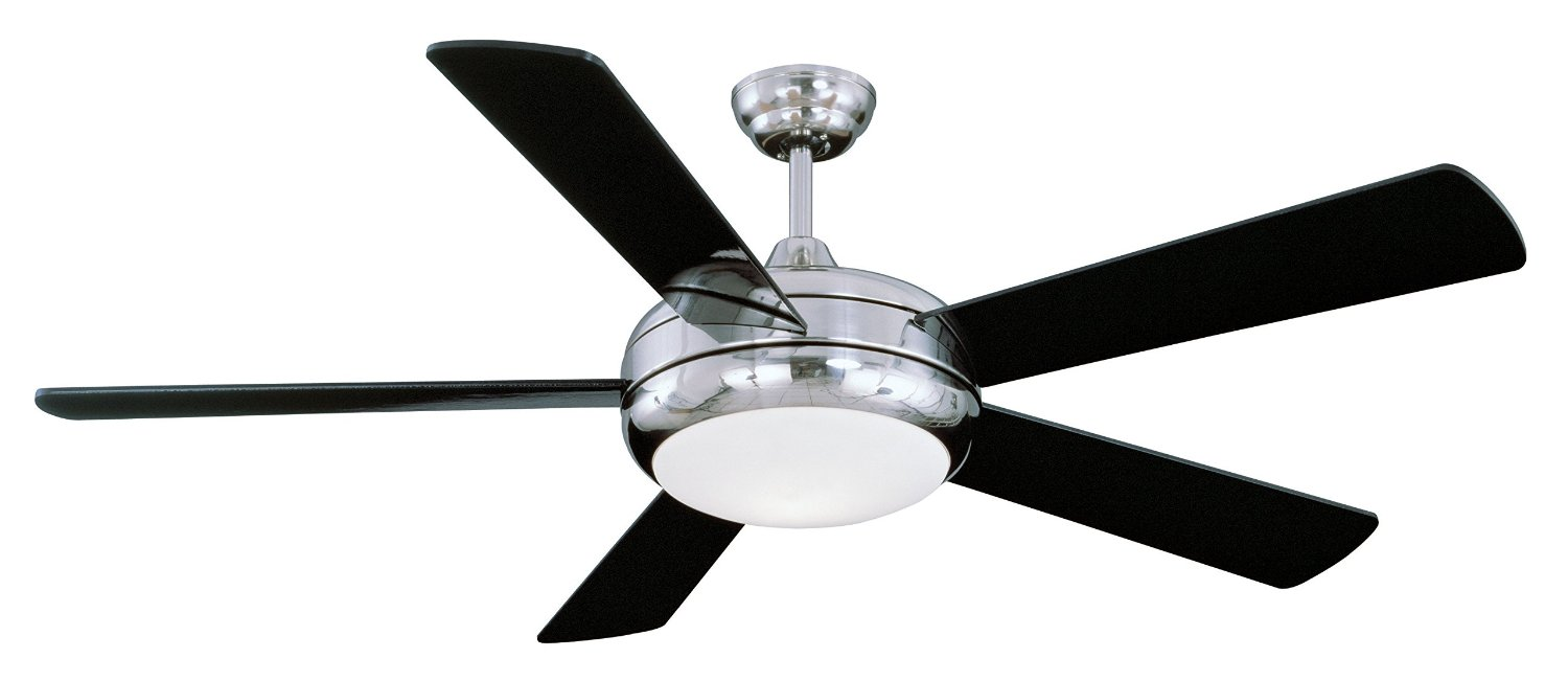 Get Quotations · Litex E TIT52SCH5LKRC Titan Collection 52 Inch Ceiling Fan  With Remote Control, Five