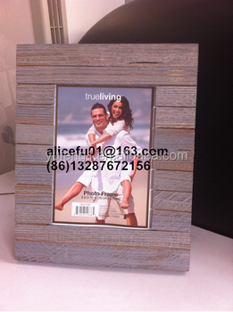 Cheap Wholesale Latest Designed Unfinished Wood Photo Frame With