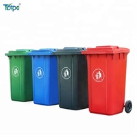 color codes 30l 50l 100l 120l 240l kitchen wheel waste bin