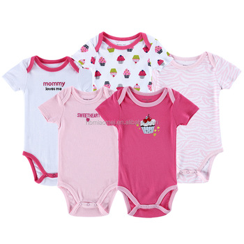 600c38f40c8e Toddlers Clothes Bodysuit Jumpsuites Snap Crotch Baby Rompers Pajamas Onesie