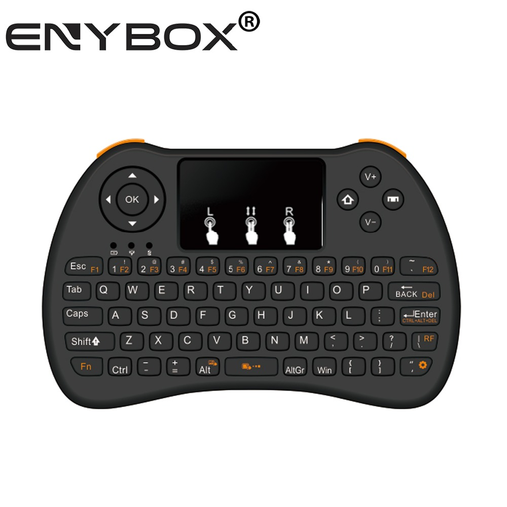 I9 mini wireless keyboard for tcl smart tv ENY 2.4g Mini I9 Wireless Computer Laptop Keyboard For Andriod,Ios,Windows
