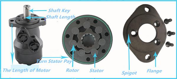 Omr160 Hydromotor Factory Omr Orbit Motor Rotor Stator Bmr