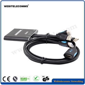 WebiTelecomms brand, 2 Ports 4K@30HZ USB 2.0 Desktop KVM Switch