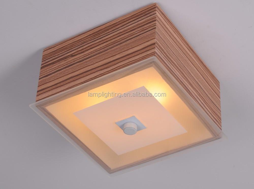 Plafoniera Tessuto Quadrata : Contemporanea quadrato nero tessuto plafoniera buy lampada da
