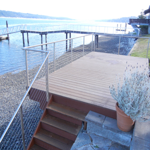 Stainless Steel Railing Systems Design For Stairs