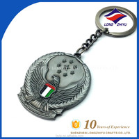 Professional Metal Crafts Customized Cheap Eagle Key Chains