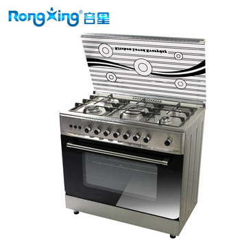 5 burners elegant gas oven with size 900X600MM