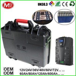24V Mobile Base Station LiFePO4 Battery For Solar Power Energy/UPS/EV/Inverter/Backup Power Portable Storage