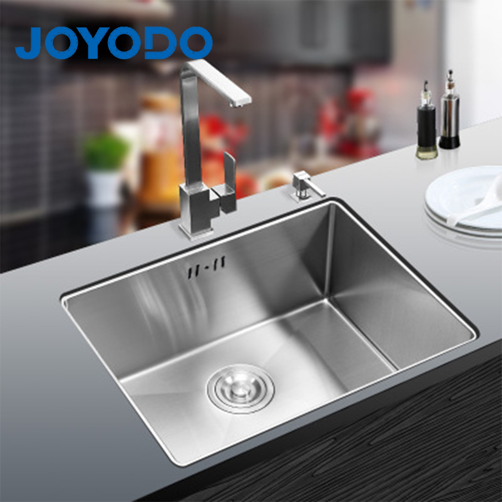 2019 China manufacturer 6045 hot sell stainless steel undermount single bowl kitchen sink