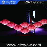 Event rental indoor LED 3D mapping inflatable DJ booth