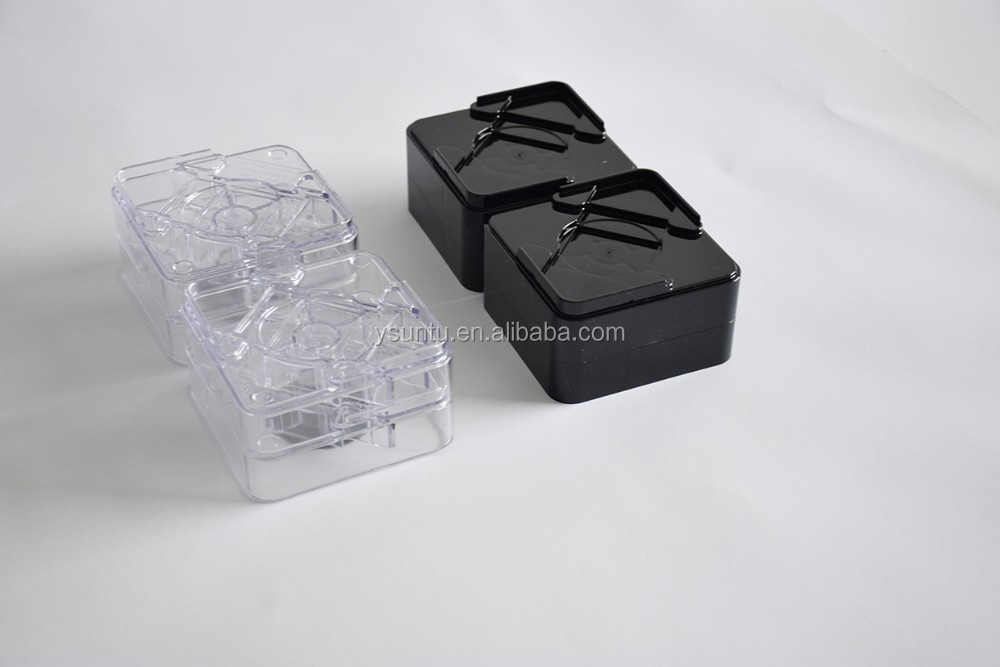 Raise Its Clear And Black Furniture Risers 8 Pack Set Of Two