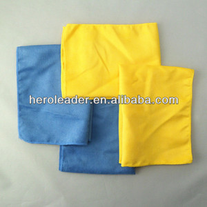 Hot selling microfiber man-made chamois leather suede cloth