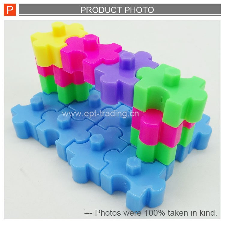 DIY Puzzle Blocks Intellectual Toys 3D Building Blocks Game Toys