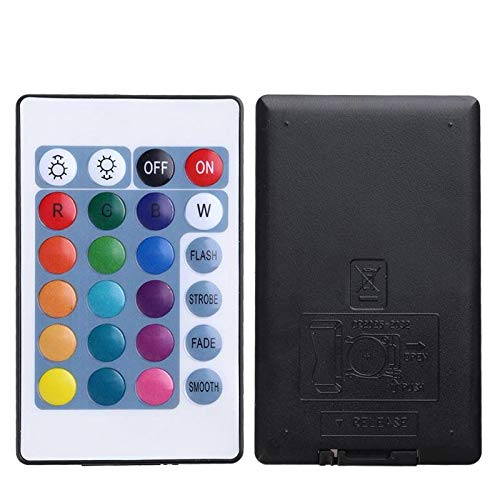 Mini USB Bluetooth RGB LED Light Controller+ 24-Key IR Remote Control for 3528 5050 LED Strip