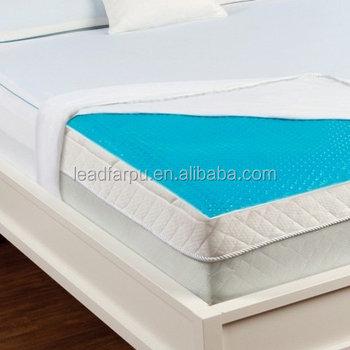 Queen King Size Cooling Gel Memory Foam Folding Mattress Topper