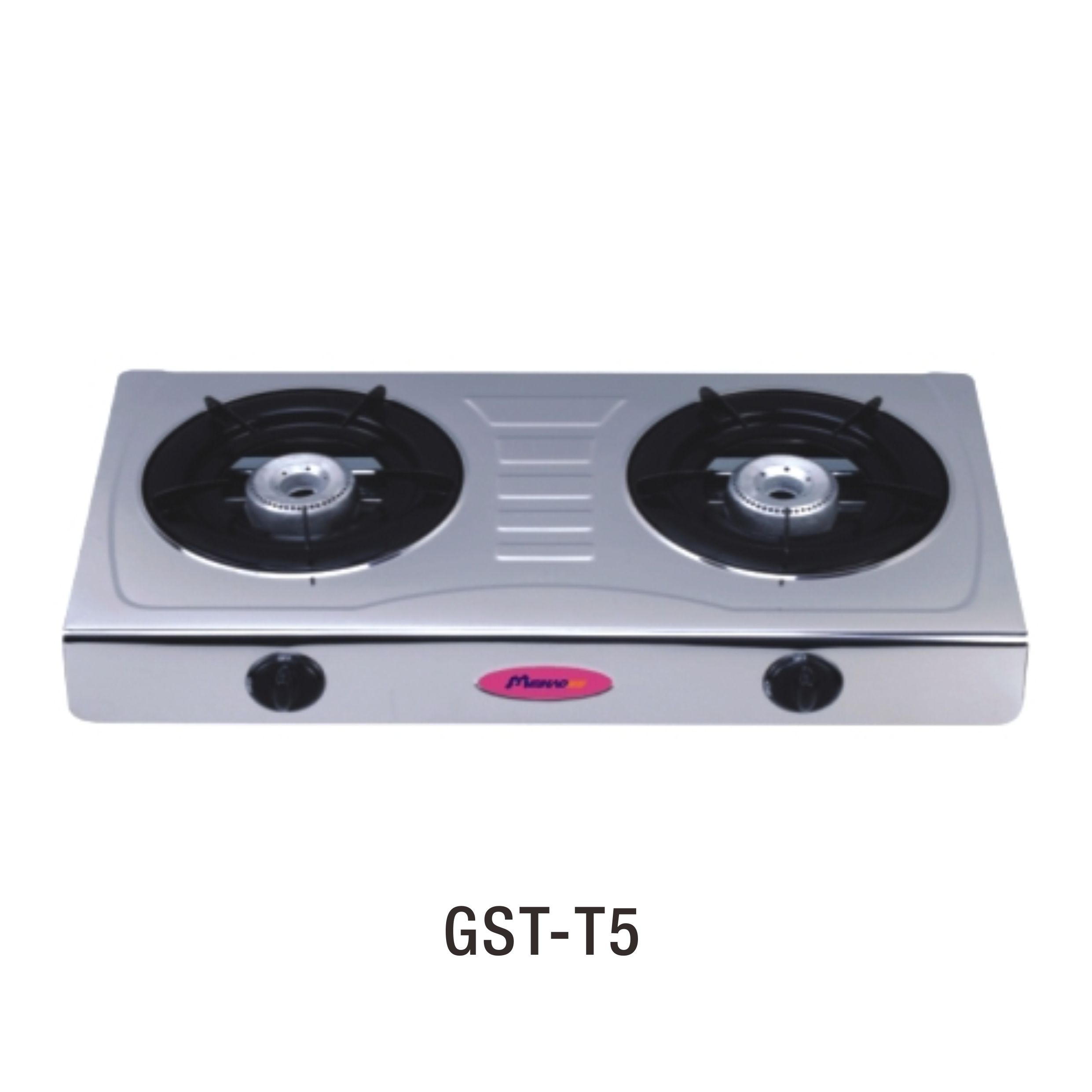 Home appliance GST-T5 2 burner stainless steel table top gas stove / cooktop