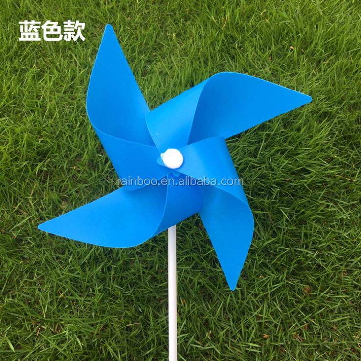 Hot Sale 4 Blades Spinning Toy Pinwheel Toy Plastic Garden