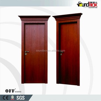 Interior Wooden Acoustic Sound Insulation Soundproof Door For Conference  Hall, Hotel, Public Places Sound