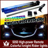 Wholesale 56CM RGB 5050 LED Knight Rider lights with Remote Control led Knight Rider led Scanner 12v/24v car led knight