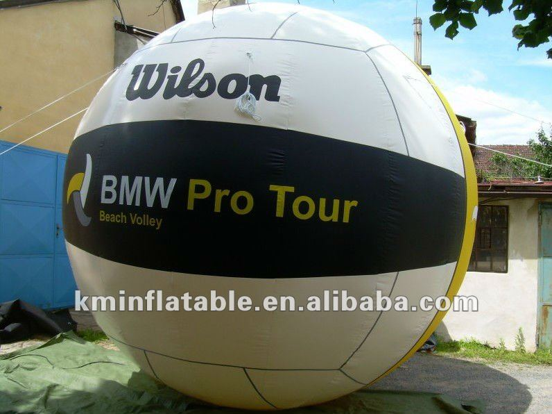 giant inflatable volleyball