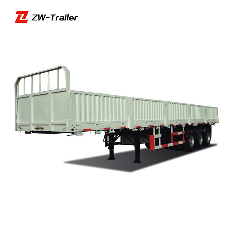 Widely Used high quality and cheap price curtain side semi trailer wood transport trailer truck