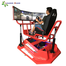 Entertainment Apparatuur Rijden Prijs Arcade Game Machine <span class=keywords><strong>3D</strong></span> Motion Auto Simulator