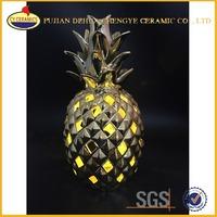 Ceramic Wholesale Artificial Fruit Pineapple Home Decoration