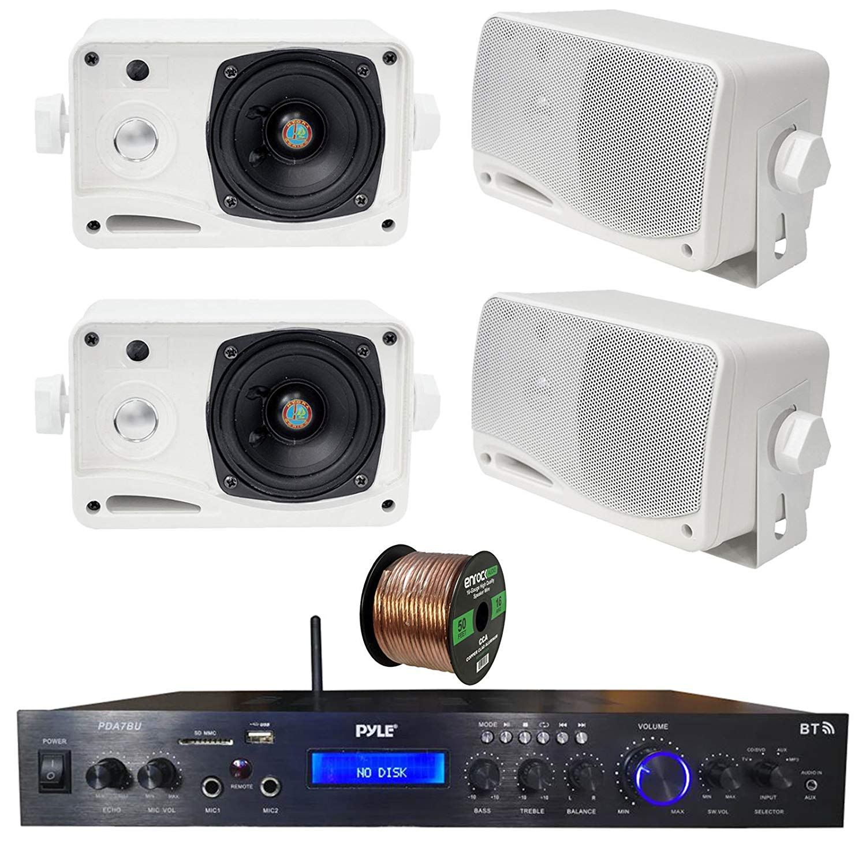 Cheap 200 Watt Audio Amplifier Find Deals Lm380 25 Get Quotations Pyle Home Theater Bluetooth Mp3 Usb Sd Aux Fm Receiver