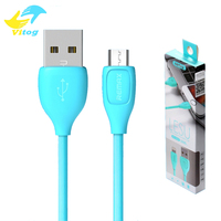 For Remax USB Cable Fast Charging Data Sync Cable with Retail Package for Android Smartphone